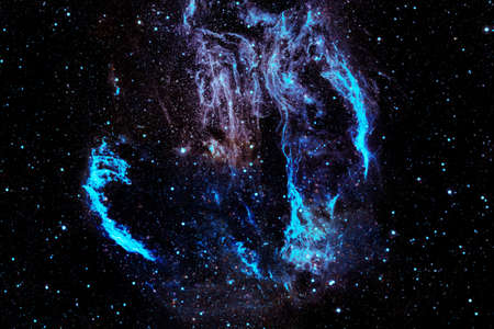 Galaxy in outer space. Beautiful science fiction wallpaper Stock Photo