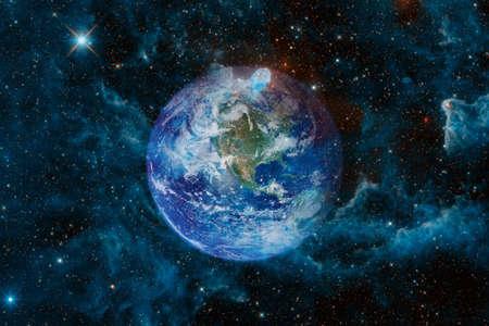 Earth. Solar system. Archivio Fotografico