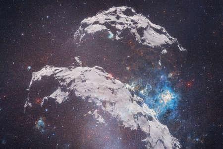 Comet 67P Churyumov-Gerasimenko. Awesome print for wallpape