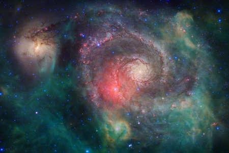 Star field. Cosmos art.