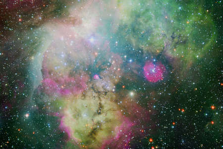 Beautiful galaxy somewhere in deep space. Cosmic wallpaper.