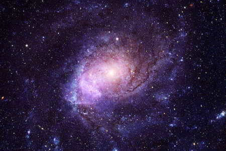 Beautiful galaxy.Starfield Outer space art. 写真素材