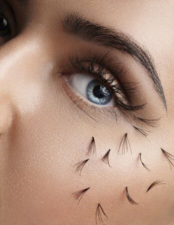 falling out: False lashes falling out