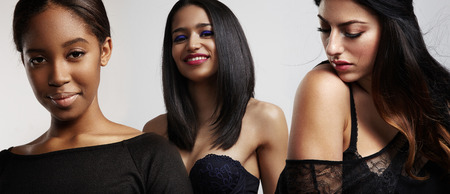 thre verschillende soorten vrouwen schoonheid