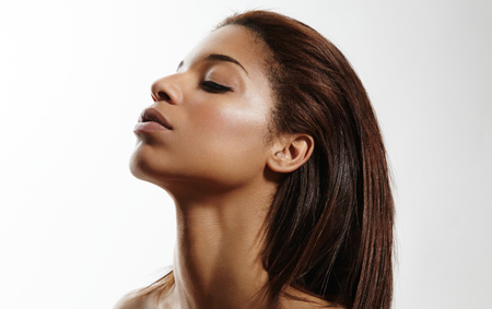 touching: profile of a beauty black women