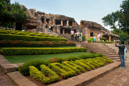 earliest: Udayagiri caves: The twin hills Udayagiri and Khandagiri are located in the vicinity of Bhubaneswar town, Orisaa, India. These represent one of the earliest groups of Jain rock-cut caves, architecture in eastern India. Editorial