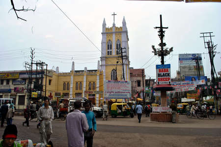 popularized: This is one of the important churches of Varanasi and is located at Girijaghar crossing, Godowlia locality of Varanasi, U.P., India at a distance of about 3.5 km from Cantt. railway station. The church opens at 5:30pm in summers & 5pm in winters. Sunday i Editorial