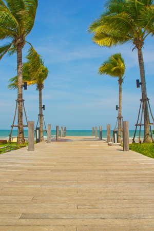 hua hin: Khao Takiab Beach, Hua Hin, Thailand Stock Photo