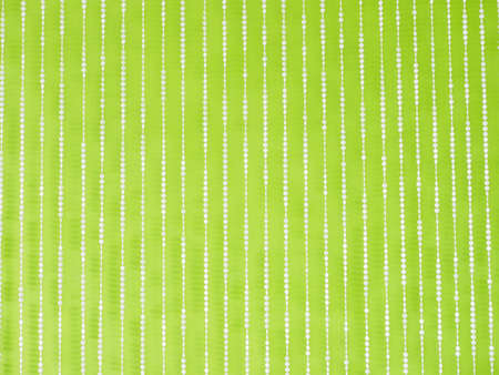 crystal hanging mobile on green wallpaper. Stock Photo