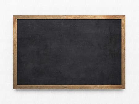 Blackboard vieux blanc Banque d'images - 26311862