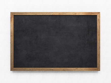 Blank old blackboard photo