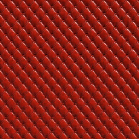 oxblood: Red padding seamless texture Stock Photo