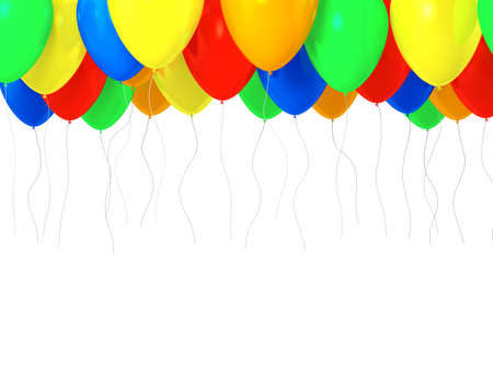 Multicolred baloons Фото со стока