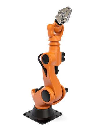 mano robotica: Muy alta resolución 3D de un robot industrial