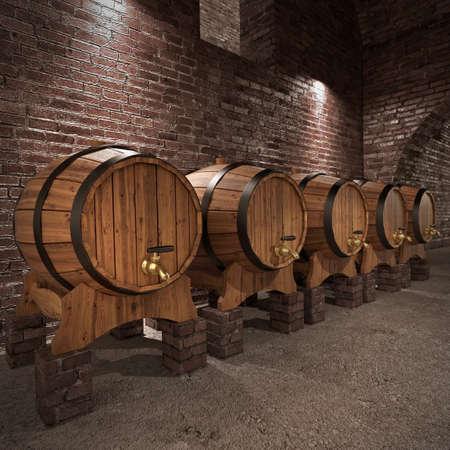 wine cellar: Ancient wine cellar