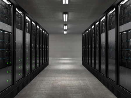server rack: Servers