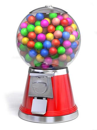 Très haute résolution de rendu 3D d'un dispencer de gomme sur blanc. Banque d'images - 26487484