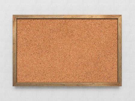 Blank old corkboard Stock Photo