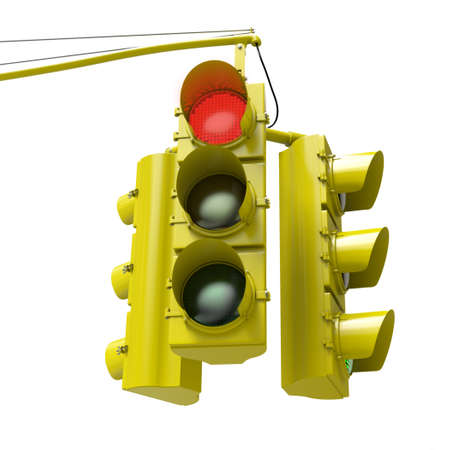 gree: Very high resolution 3d rendering of a traffic light with e gree light on.