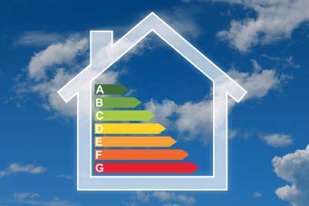 Efficacité énergétique Banque d'images - 26488955