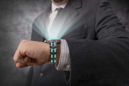 Futuristic watch photo