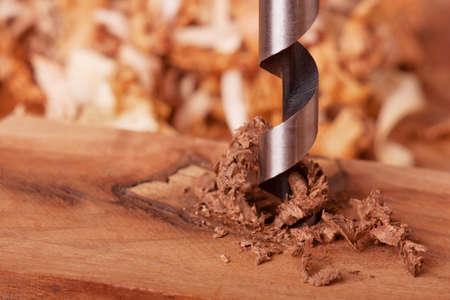 木材を掘削オーガー ビット