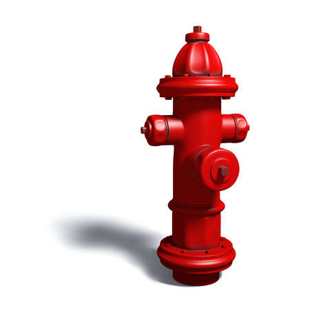 dripped: Very high resolution rendering of an hydrant
