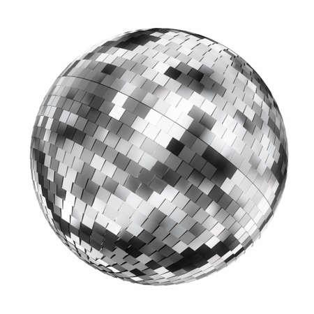 mirror ball: Muy alta resoluci�n 3d de una bola de espejos