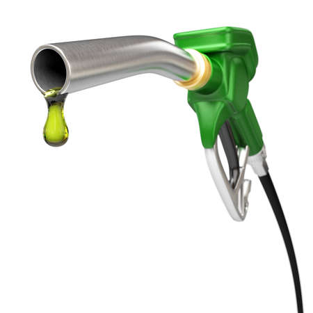 Very high resolution 3d rendering of a fuel pump nozzle Zdjęcie Seryjne - 26671717