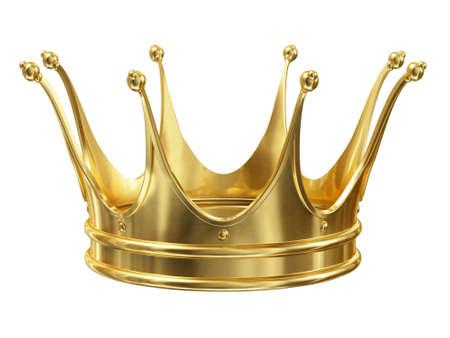 luxuriance: Gold crown Stock Photo