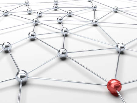 Interconnecties Stockfoto