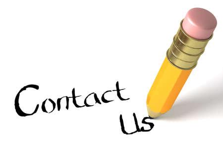 write us: Contacts symbols