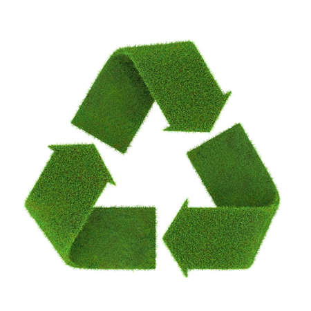 echo: Very high resolution rendering of a recycling symbol