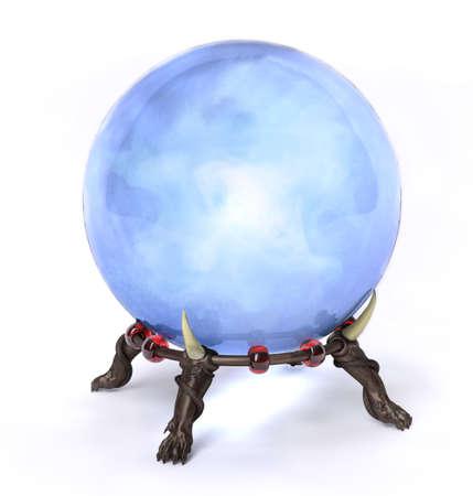 adivino: Muy alta resolución de procesamiento de una bola mágica de cristal