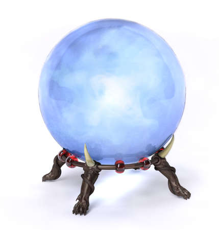 soothsayer: Very high resolution rendering of a cristal magic ball