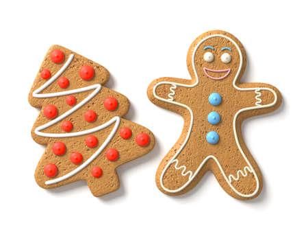 gingerbread cookies: Gingerbread man