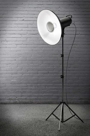 strobe: Professional strobe light in a gunge ambient