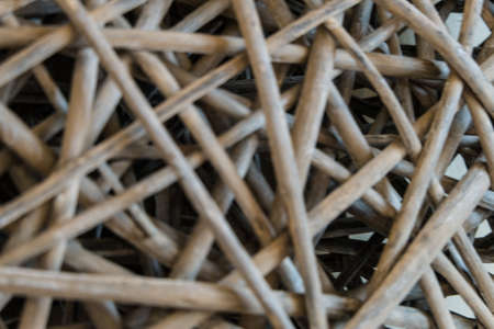 interlace: handcraft weave texture natural bamboo can be used as background