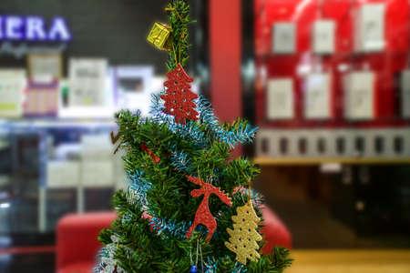 Xmas tree ornament photo