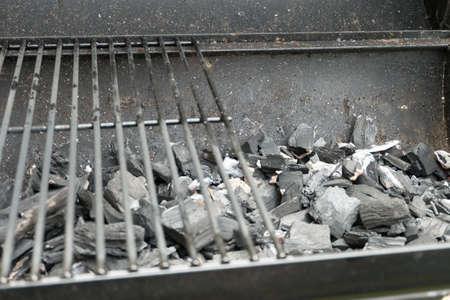 quemadura: Quemadura carbón para barbacoa