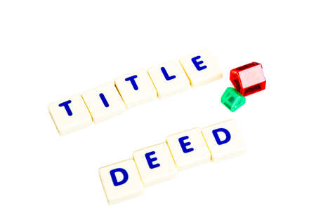 title: Title deed text  scrable