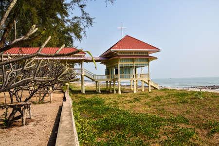 Chaam,Thailand ,Thailand - February 18,2016 -Mrigadayavan Palace