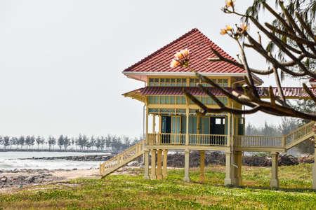 hua: Chaam,Thailand ,Thailand - February 18,2016 -Mrigadayavan Palace