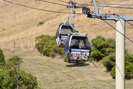 Christchurch,New Zealand  -April 30,2016: Christchurch Gondola.