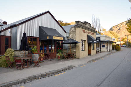 Arrowtown,May 3 -April 30,2016 : Arrowtown in Autumn.Arrowtown is an historic gold mining town in the Otago region of the South Island of New Zealand.