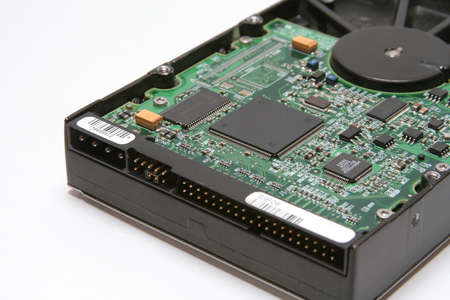 Sockets of Hard Disk Stock Photo - 4639939