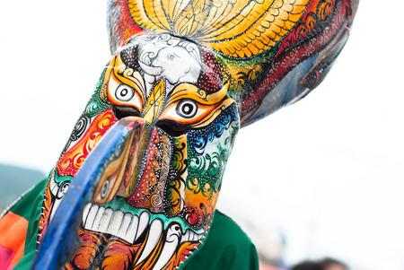 northeastern: Thai masked festival  It is named Phi-Ta-Khon in Northeastern, Thailand