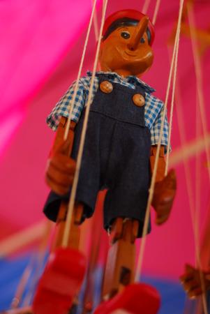 pinocchio: Doll wood Pinocchio handmade puppet