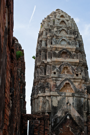 Pagoda at Wat Si Sawai, Sukhothai Historical Park, Sukhothai Thailand