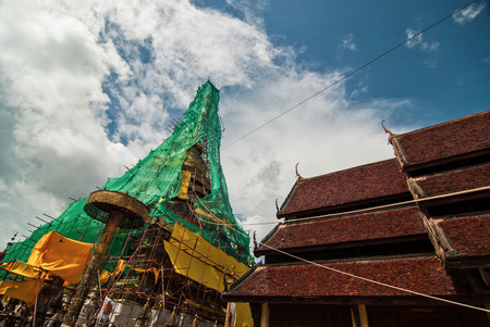 recommended: The restoration repairs Phra That Chae Haeng, Nan province, Thailand